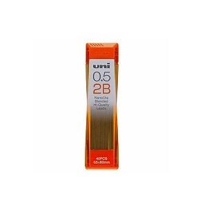 替芯 シャープペンシル シャーペン 低摩耗 0.5mm 40本入り ナノダイヤシャープ芯 三菱鉛筆 EC-U05202ND
