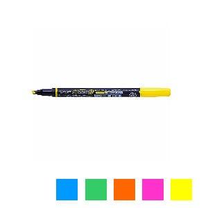 水性 蛍光ペン 蛍コート80 太字 3.8mm 1本 トンボ鉛筆 EC-WA-SC