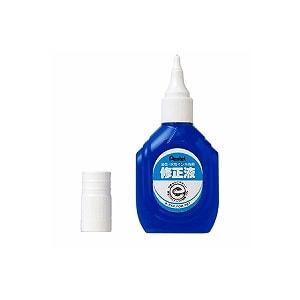 修正液 修正ペン ボトルタイプ 油性・水性インキ両用 1個 ぺんてる EC-XEZL1-W