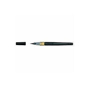 筆ペン ぺんてる筆 中字 毛筆 染料インキ 1本 ぺんてる EC-XFL2L