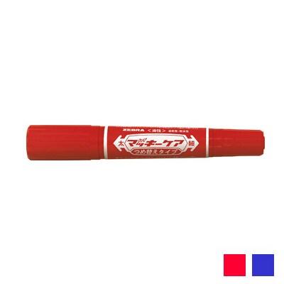 EC-YYT5 詰め替え式 油性マーカー マジック ハイマッキーケア 太字 6mm/細字 1.5~2mm 1本 ゼブラ