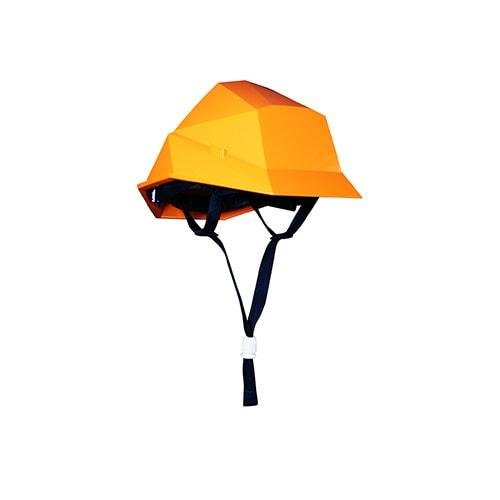 カクメット スタッキングヘルメット B-type スタッキング可能 省スペース 衝撃吸収ライナー搭載 20個セット 国家検定合格品 飛来・落下物・墜落時保護・電気用