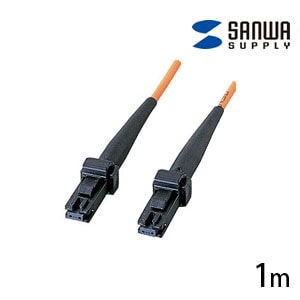 MT-RJパッチケーブル マルチモード 1m 光ファイバーコア径 50ミクロン MT-RJコネクタ - MT-RJコネクタ