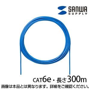 CAT6UTP単線ケーブルのみ 300m ブルー