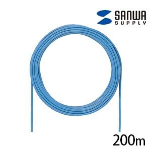 カテゴリ5eUTP単線ケーブルのみ 200m ブルー