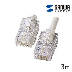 INS1500 ISDN ケーブル 3m (RJ-48コネクタ - RJ-45コネクタ) ストレート結線