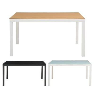ARGANO(アルガノ) ダイニングテーブル ガラステーブル 幅1350×奥行800×高さ710mm モダン シンプル ホーム 家具 リビング