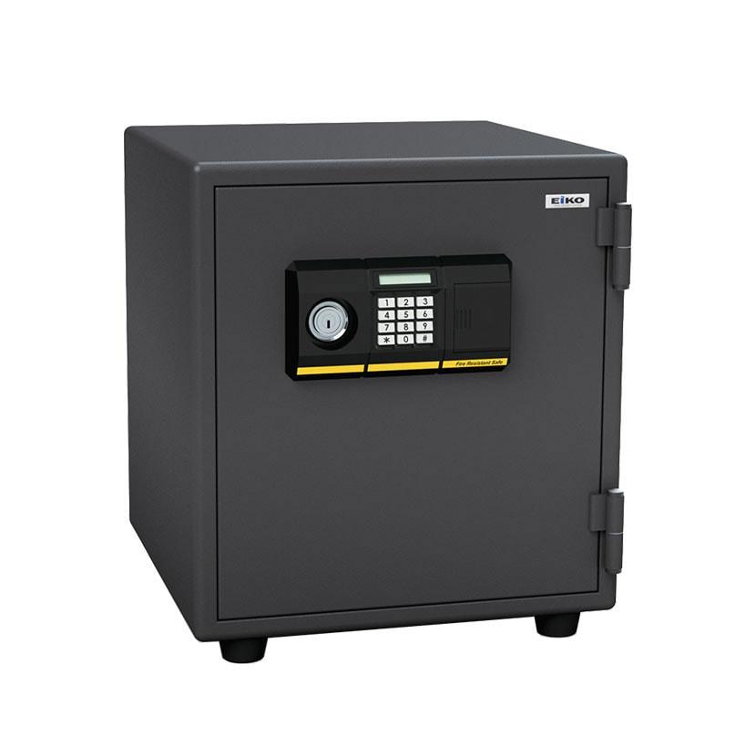 【エーコー】家庭用 小型 耐火金庫 テンキー式 プッシュ式 A4ファイル収納可/BES-25PK