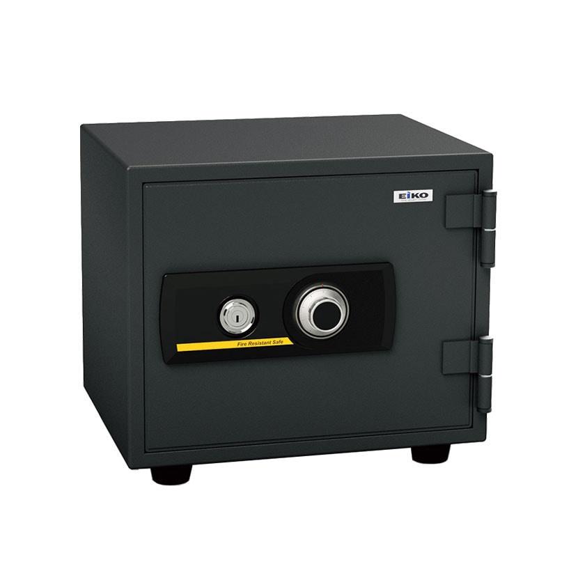 【エーコー】家庭用 小型 耐火金庫 ダイヤル式 A4用紙収納可/BES-9