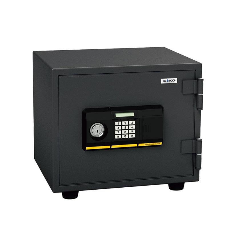 【6月中旬入荷予定】【エーコー】家庭用 小型 耐火金庫 テンキー式 プッシュ式 A4用紙収納可/BES-9PK