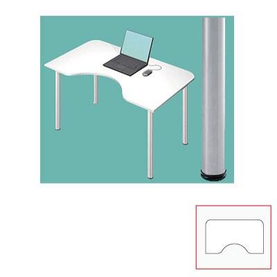 Garage(ガラージ) D2MST-WH | D2デスク デスク テレワーク Mタイプ 幅1200×奥行700(500)×高さ715mm