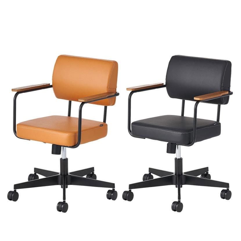 メティオ2.0 ワークチェア ロッキングタイプ 肘付き オフィスチェア 事務椅子 ミーティングチェア 幅626×奥行630×高さ755~845mm
