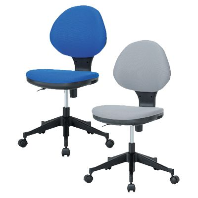 オフィスチェア デスクチェア 事務椅子/肘無/IK-GY-129