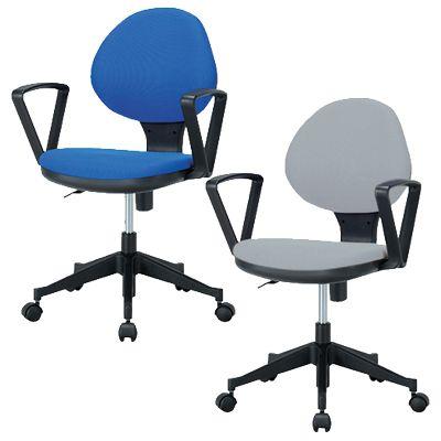 オフィスチェア デスクチェア 事務椅子/固定肘/IK-GY-129A