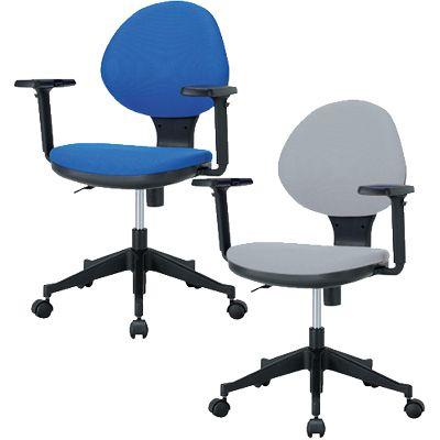 オフィスチェア デスクチェア 事務椅子/可動肘/IK-GY-129M