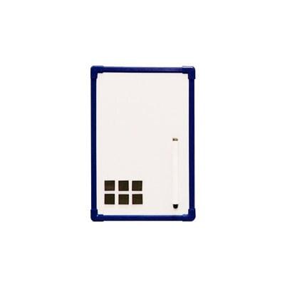 ホワイトボード/幅300×高さ200mm・壁掛無地 マグネット対応 マーカー、壁掛用ひも付属/IR-NWP-23