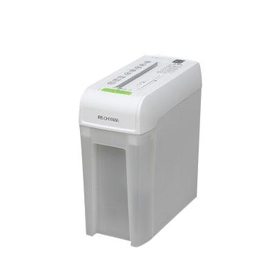 パーソナルシュレッダー 一人1台 クリアダストボックス クロスカット 4×27mm CD対応 グリーン購入法適合品 P6HC ホワイト