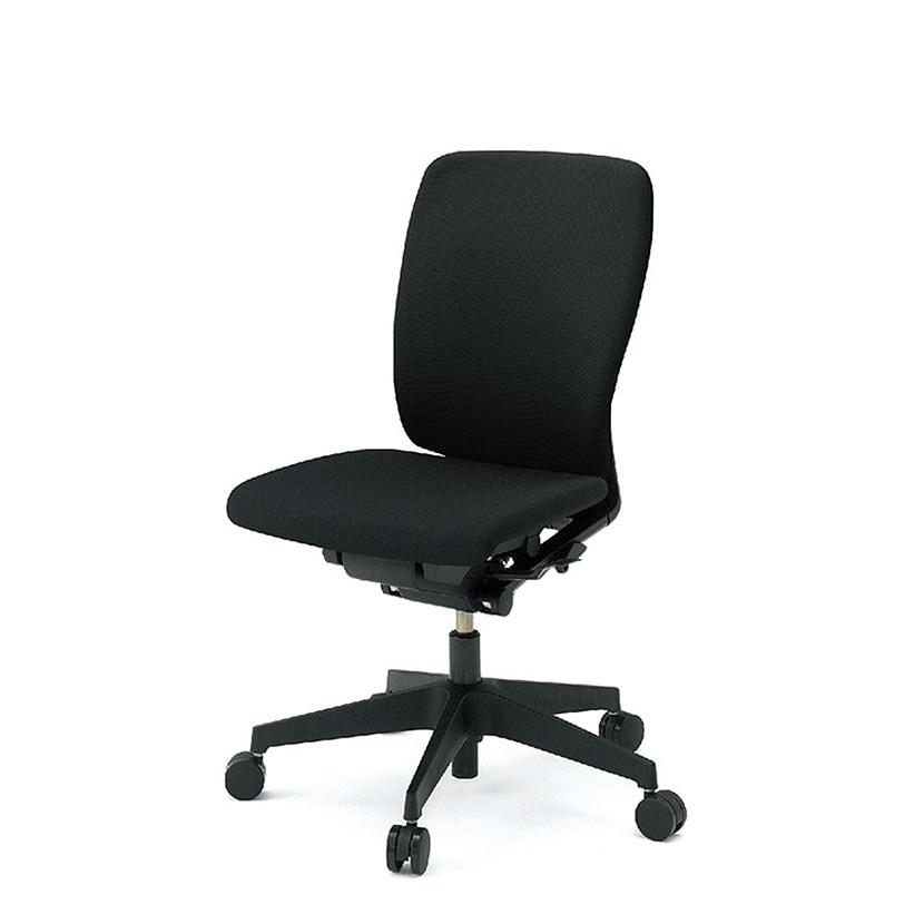 ITOKI(イトーキ) オフィスチェア 事務椅子 フルゴチェア ハイバック 肘なし ハンガーなし ブラック×ブラック  | KF-430GB-T1T1
