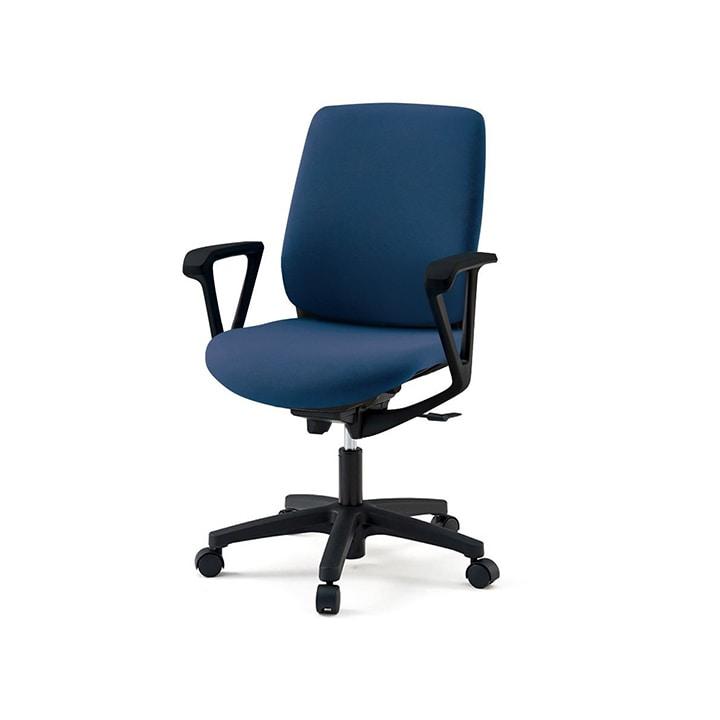 【3月上旬入荷予定】ITOKI(イトーキ) オフィスチェア 事務椅子 トルテRチェア ハイバック ループ肘 ハンガーなし  | KZ-236GB