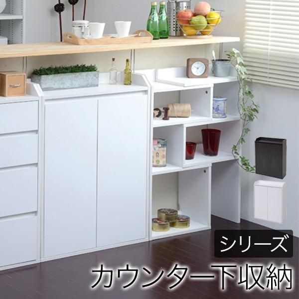 カウンター下収納 扉 リビング・キッチン収納 幅600×奥行220×高さ800mm JKP-YHK-0205