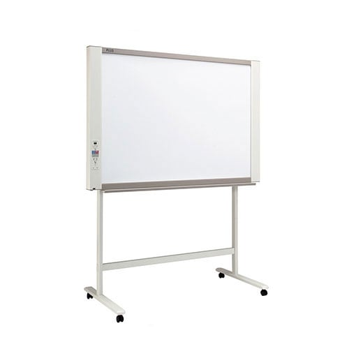 プラス ネットワークボード 電子黒板 コピーボード ホワイトボード スタンドセット ボード4面/N-214S-ST
