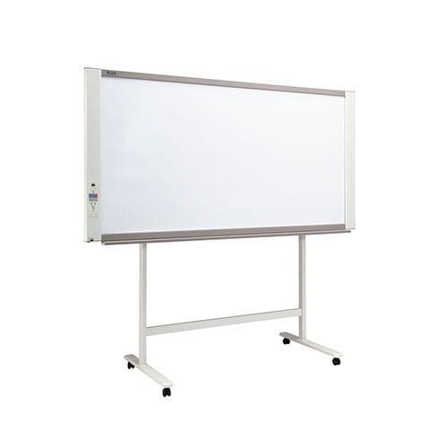 プラス ネットワークボード 電子黒板 コピーボード ホワイトボード スタンドセット ワイドタイプ ボード2面/N-21W-ST