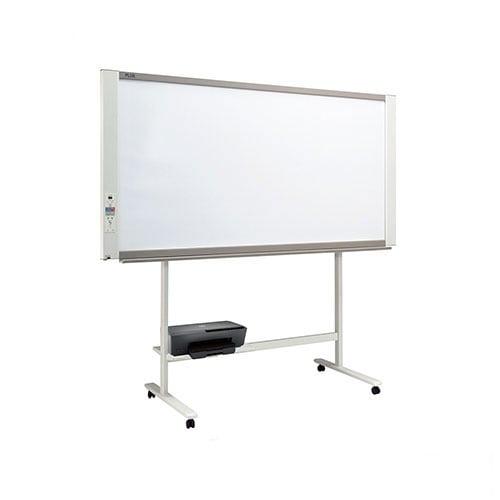 プラス ネットワークボード 電子黒板 コピーボード ホワイトボード カラーインクジェットプリンタセット ワイドタイプ ボード2面/N-21WI