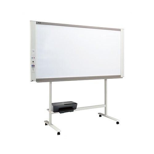 プラス コピーボード ホワイトボード ネットワークボード 電子黒板 カラーインクジェットプリンタセット ワイドタイプ ボード2面/N-31WI