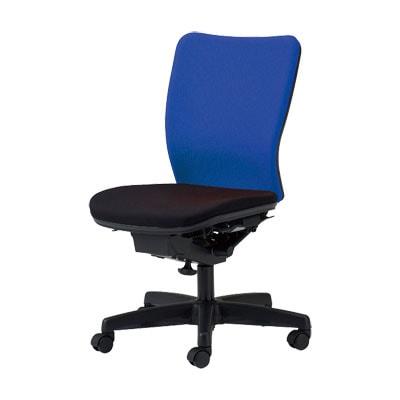 国産 オフィスチェア 事務椅子 シンクロロッキングチェア マット交換可 (受注生産) 【ブルー・レッド・オレンジ・ライトグリーン・ブラック】 ウォントチェア