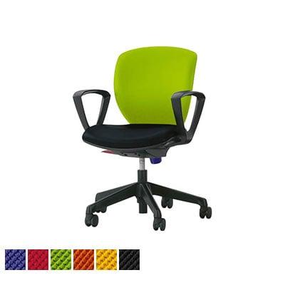 オフィスチェア デスクチェア 事務椅子 ローバック サークルアーム シルフィード No.1271F