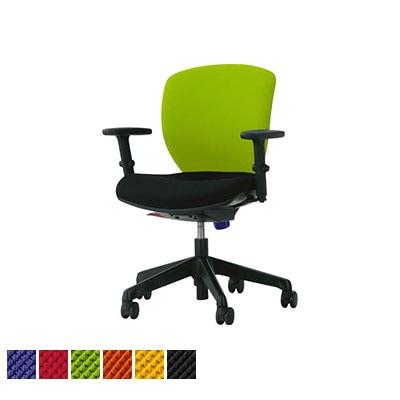 オフィスチェア デスクチェア 事務椅子 ローバック フレキシブルアーム シルフィード No.1272F