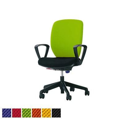 オフィスチェア デスクチェア 事務椅子 ハイバック サークルアーム シルフィード No.1276F