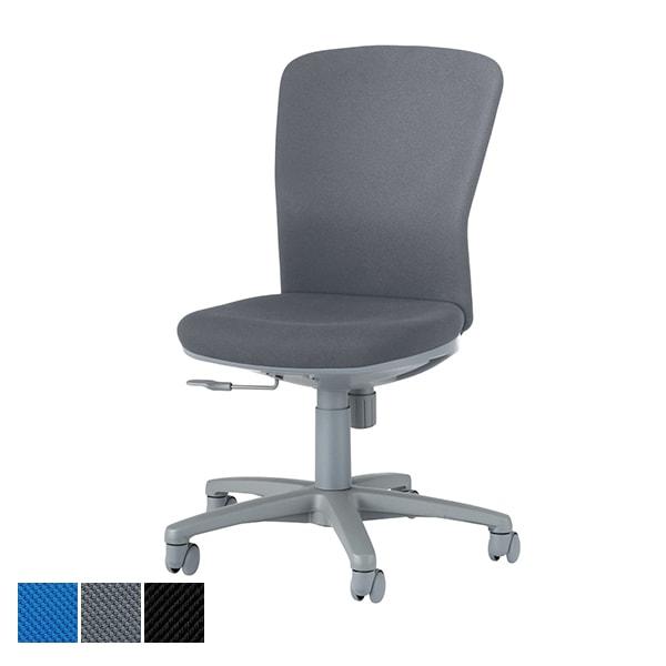 オフィスチェア デスクチェア 事務椅子 No.360 布張り ハイバック 肘なし モールドウレタン LI-No365F