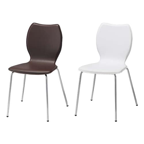 レザーチェア スタッキング可能 会議椅子 おしゃれ スタイリッシュ 幅500×奥行き510×高さ815mm