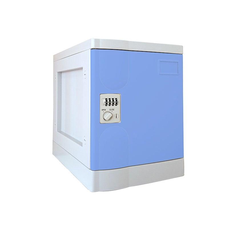 プラボックス プラスチックロッカー〔ダイヤル錠〕Sサイズ〔単体〕/MY-PB-DS1