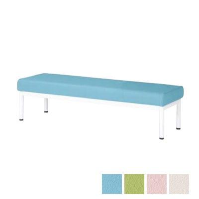 【抗菌・耐次亜塩素酸】ロビーチェア 待合椅子 幅1200mm 背なし ALB-12BS・ALB-12BH
