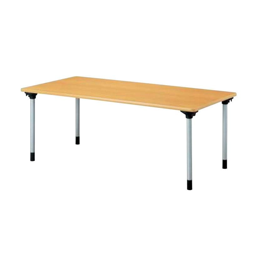 折りたたみテーブル 業務用 幅1500×奥行750mm KMH-1575