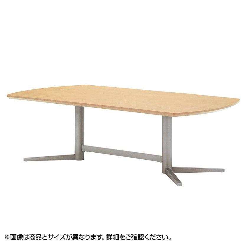 エグゼクティブテーブル オフィス 打ち合わせテーブル スタンダードタイプ・シルバー塗装脚 幅3200×奥行1200mm KV-3212S