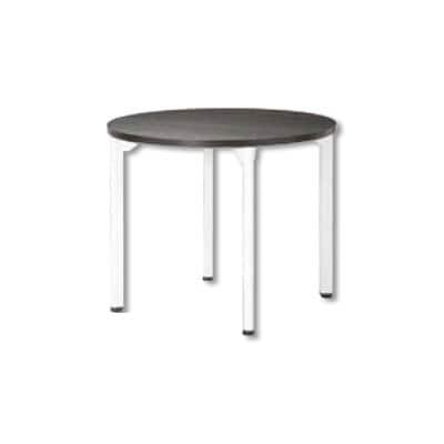 ミーティングテーブルMDL 会議テーブル アジャスタータイプ 丸型 指紋レス(一部カラー) 直径1200×高さ720mm MDL-1200R