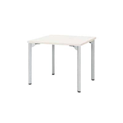 ミーティングテーブルMDL 会議テーブル アジャスタータイプ 角型 指紋レス(一部カラー) 幅1200×奥行1200×高さ720mm MDL-1212K