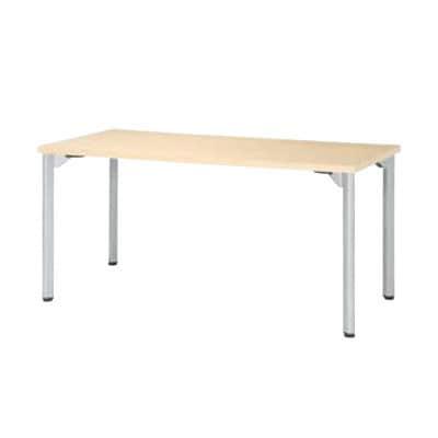 ミーティングテーブルMDL 会議テーブル アジャスタータイプ 角型 指紋レス(一部カラー) 幅1200×奥行750×高さ720mm MDL-1275K