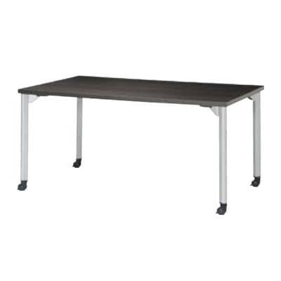ミーティングテーブルMDL 会議テーブル キャスタータイプ 角型 指紋レス(一部カラー) 幅1500×奥行750×高さ720mm MDL-1575KC