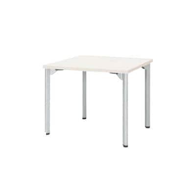 ミーティングテーブルMDL 会議テーブル アジャスタータイプ 角型 指紋レス(一部カラー) 幅750×奥行750×高さ720mm MDL-7575K