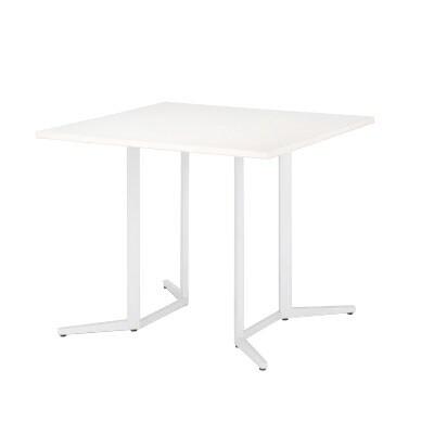 ハイテーブルSKH カウンター会議テーブル 正方形 指紋レス(一部カラー) 幅900×奥行900×高さ1000mm SKH-0909K