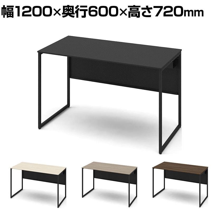 3K20NE   ソリスト Soliste スタンダードタイプ(高さ720) 平机 フレーム脚(ブラック) メラミン天板 幅1200×奥行600×高さ720mm (オカムラ)