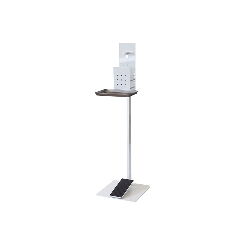 L979SC | 消毒液スタンド 足踏み式 (オカムラ)