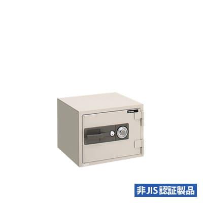 耐火金庫 ダイヤル式/幅550×奥行507×高さ410mm/95kg/22L/PC41【サガワ】