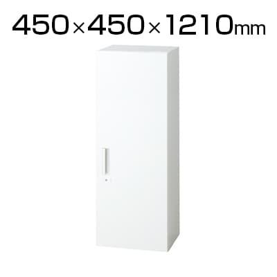 L6-120AC   L6 片開き保管庫 L6-120AC W4 ホワイト 幅450×奥行450×高さ1210mm プラス(PLUS)