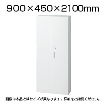 L6-210A-IC | L6 ICライト両開き保管庫 ホワイト 幅900×奥行450×高さ2100mm プラス(PLUS)