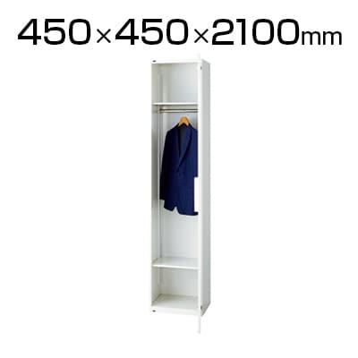 L6-210LC | L6 ロッカー L6-210LC W4 ホワイト 幅450×奥行450×高さ2100mm プラス(PLUS)